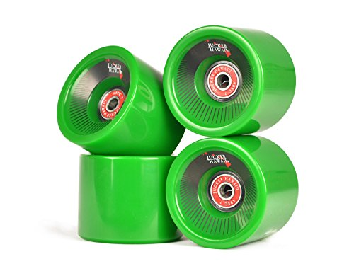 JUCKER HAWAII Longboard Rollen Allround Cruiser Wheels Kahuna inkl. Kugellager und Spacer