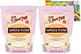 Bob's Red Mill Tapioca Flour Bundle. Includes Two (2) 16oz Packages of Bobs Red Mill Tapioca Flour and a Recipe Card from Carefree Caribou! Gluten Free & All Natural! Also Known As Tapioca Starch!