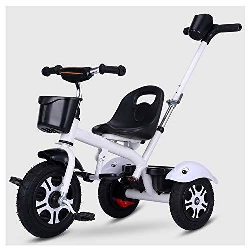 GIFT Premier Vélo Roue Molle Kids Tricycle Trike EVA, Siège Peut être Ajusté, Cadeau De Noël Nouvel an 2-6ans,C