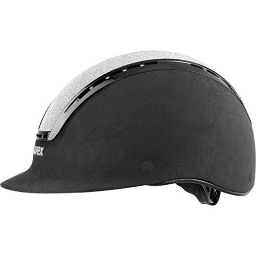 Uvex suxxed Glamour Helm, Unisex Erwachsene, Unisex – Erwachsene, Suxxed Glamour, Silber