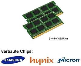 Samsung D2S0800-D2G-MJ3X2-FBA - Memoria RAM DDR2 (4 GB, PC2 6400S, 2 módulos de 2 GB, 800MHz, SO-DIMM)