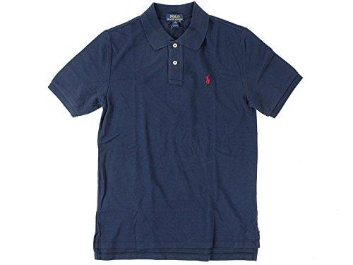 [ポロラルフローレン] POLO RALPH LAUREN ボーイズ 半袖 ポロシャツ ネイビー L