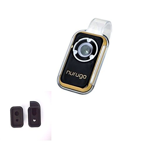 Nurugo Micro Smartphone Microscope (Gold) 400X Magnification Including Brackets for iPhone - Share Media with The Nurugo Application(Android & iOS) (Gold)