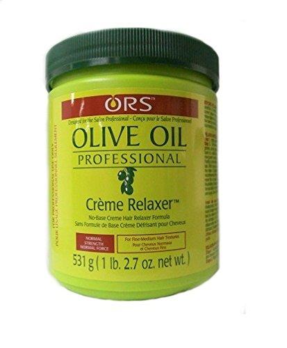 Relaxer / Glättungscreme Organic Root Stimulator Olive Oil Creme Relaxer NORMAL - REGULAR 531g