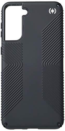 Speck Products - Custodia per Samsung Galaxy S21+ 5G, colore: Nero/Bianco