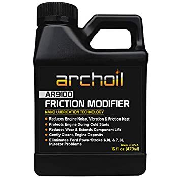Archoil AR9100 Oil Additive  16oz  for All Vehicles - Powerstroke Cold Starts Eliminates Injector Problems