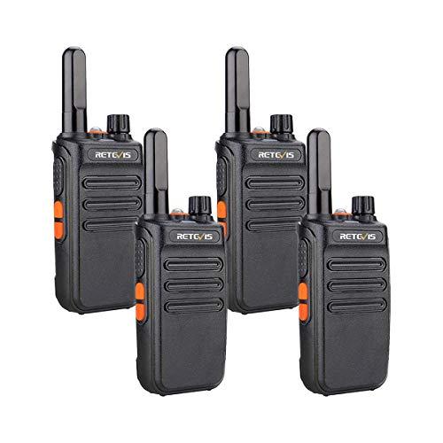 Retevis RB635 Walkie Talkie Professional, PMR446 Radio Bidireccional Larga Distancia, Walkie Talkie...