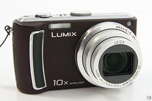 Panasonic Lumix DMC- TZ5 braun + SD4GB+Tasche+2.Akku+MS+DS|deutsch
