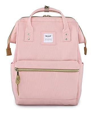 Himawari Laptop Backpack Travel Backpack With USB Charging Port Large Diaper Bag Doctor Bag School Backpack for Women&Men(9001 Pink)