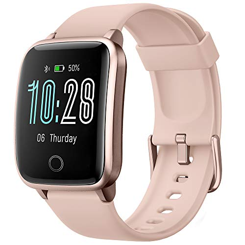 Willful Smartwatch für Damen und Herren, Smartwatch, Benachrichtigungen für iPhone Android Handy Uhr Fitness Tracker Pulsuhr Armband Schrittzähler Kalorienzähler GPS Tracker Wasserdicht