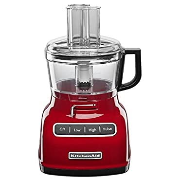 KitchenAid KFP0722ER 7-Cup Food Processor with Exact Slice System Empire Red