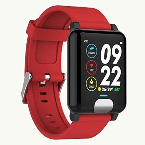 OMJNH Smart horloge met ECG + PPG test hartslag bloeddruk monitoring sport waterdicht en andere functies,