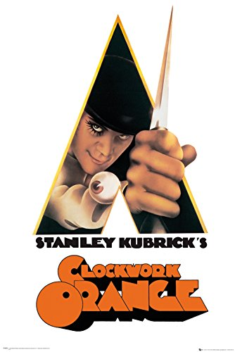 GB Eye Limited GB Eye Ltd Maxi-Poster Clockwork Orange, 61 x 91,5 cm, Holz, verschieden, 65 x 3.5 x 3.5 cm