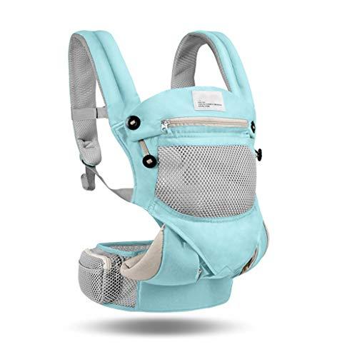 Porte-bébés ventraux Baby Sling Multi-Fonctions à l'avant et à l'arrière, à Double Usage, Sortie de la lumière Simple écharpes pour bébé Contre-Poids pour bébé Durable Porte-bébés ventraux
