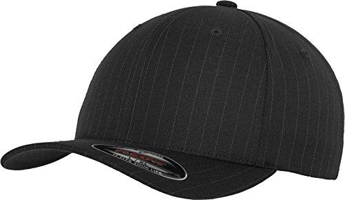 Flexfit Mütze Pinstripe Gorro, Hombre, Darkgrey/Wht, L/XL