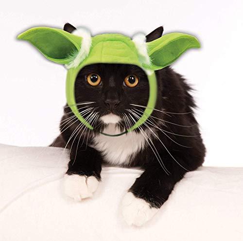 Rubie's Star Wars Classic Yoda Cat Headpiece, Multicolor