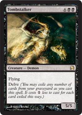 Magic The Gathering - Tombstalker - Modern Masters