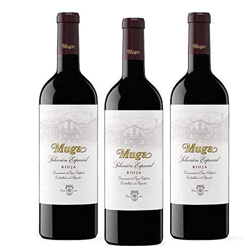 Muga Selección Especial - 3 Botellas - Seleccionado y enviado por Cosecha Privada - Muga Vino Tinto Rioja
