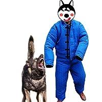 DYHQQ Combinaison de Morsure de Protection complète, Veste de Costume de Morsure de Formation de Chien de Police de Grande Protection du Corps