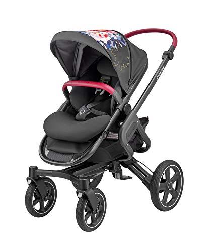 Maxi-Cosi Nova Poussette combinée utilisable dès la naissance jusqu'à environ Poussette d'extérieur confortable 3,5 ans