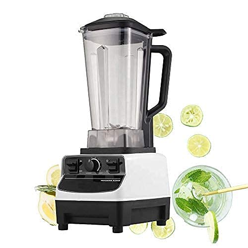 Shoppers Hub PNQ Heavy Duty 1600W Electric Commercial Blender Bar Blender Cocktail Mocktail Milk Shaker Juice Smoothie Maker Mixer with 2 Litre Transparent Toughened Polycarbonate Jar For Ideal Use in Cafes, Juice Parlors, Small Start Ups, Hotels And Restaurants
