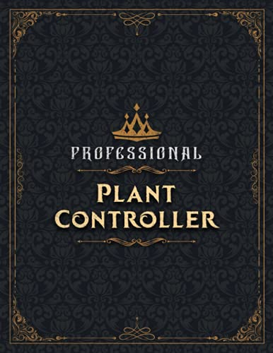 Plant Controller Sketch Book - Professional Plant Controller Job Title Working Cover Notebook Journal: Notebook for Drawing, Painting, Writing, ... 8.5 x 11 inch, 21.59 x 27.94 cm, A4 size)