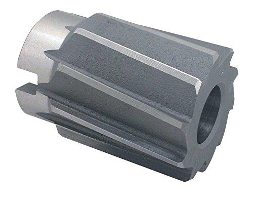 HSS Aufsteck Reibahle, DIN 219 B, spiralgenutet, mit kegeliger Bohrung 1:30 und Quernut: DIN 219 B, Ø 80,0 H7 x 90/63 mm