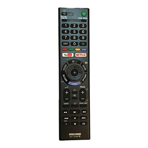 Control Remoto Compatible para Sony KD-43XE7096 Televisión/TV