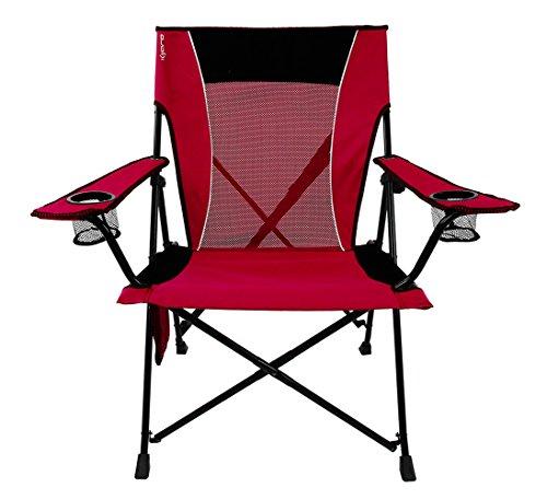 Kijaro Dual Lock Portable Camping and Sports Chair, Red Rock Canyon