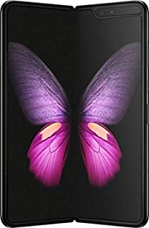 Samsung - Galaxy Fold SM-F900U - Cosmos Black - Unlocked AT&T Model GSM (US Warranty) (Renewed)