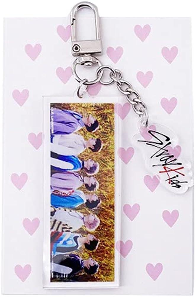 NC Kpop Stray Kids Keychain Acrylic Keyring Individual Key Chain Gifts for Felix Bangchan