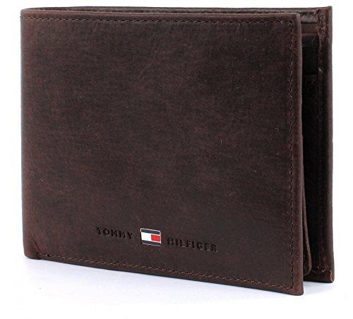 Tommy Hilfiger Herren JOHNSON CC FLAP AND COIN POCKET Geldbörsen, Braun (Brown 041), 13x9.5x3 cm