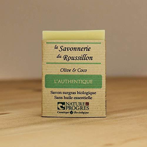 Savon Surgras Bio - Olive & Coco - L'Authentique