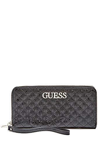 Guess Portafoglio Wilona SLG Large Zip Around Wallet Black