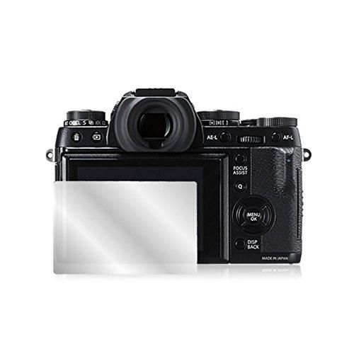 FUJIFILM X-T1 用 77/50/R1 液晶保護フィルム  鏡に変わる!ハーフミラー(防指紋)タイプ
