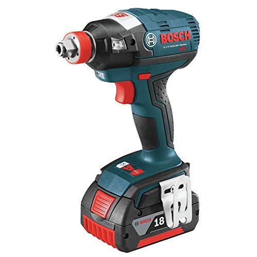 Bosch IDH18202RT 18V Cordless Lithium-Ion Brushless Socket Ready Impact Driver Kit with Soft Case (Renewed)