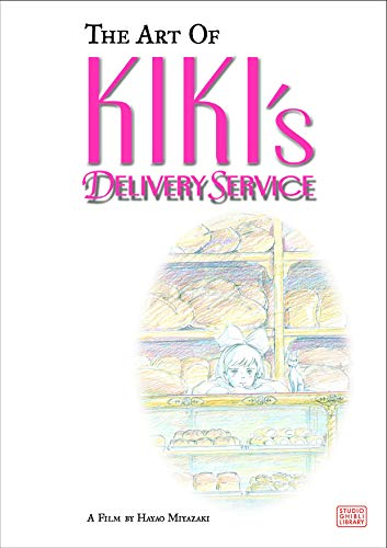 The Art of Kiki's Delivery Service: A Film by Hayao Miyazaki (Hardcover Book) $14.99 AC via Amazon