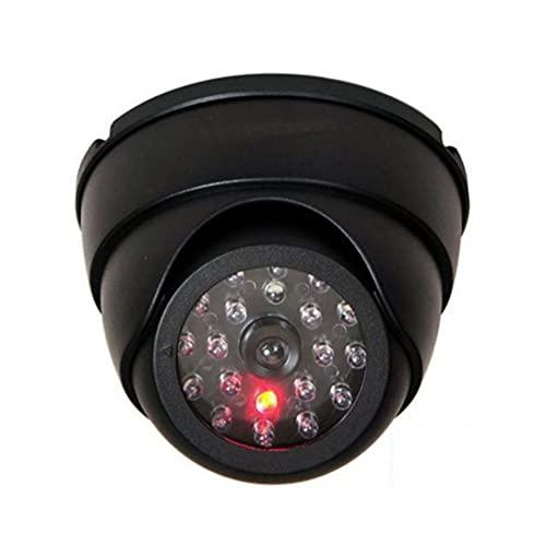 SHUBIAO-wcha Fotocamera di sicurezza fittizia, Cctv. Fotocamera, telecamere false di sorveglianza, telecamere di sicurezza domestica, manichino GUIDATO Camera di videocamera di videocamera esterna, vi
