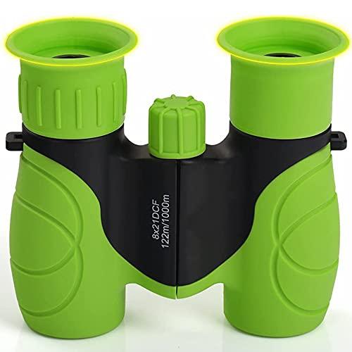 Mini binoculares Infantiles 8 x 21 Regalo Ideal para niños pequeños y niñas-4 5 6 7 8 años de Edad, niños y Juguetes para niñas