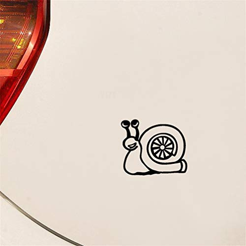 NA Autoaufkleber 14 cm x 11,9 cm Turbo Snail Kompressor Boost Turbolader Autoaufkleber Aufkleber für Auto Laptop Fenster Aufkleber