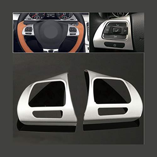 GOZAR Stahlring Rad Chrom Abdeckung Für Volkswagen Vw Golf 6 Jetta Passat B7 Cc