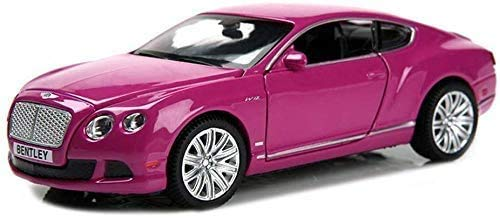 YLJJ Coches a Escala Modelo de automóvil Bentley Continental GT 1:32 niños de Sonido estático y Ligero tirón Volver Toy Boy Simulación Regalo decoración Gran Regalo para el Día del Niño