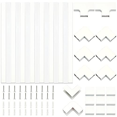 Shineyoo 電線ケーブルカバー 配線カバー 配線モール ケーブルモール 40cm*2.4cm*1.4cm×15本