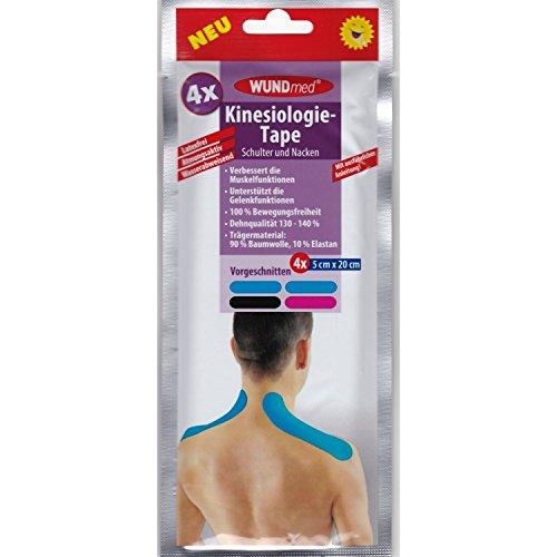 Kinesiologie-Tape Schulter und Nacken Kinesio Tape Sport Sporttape 4 Stück