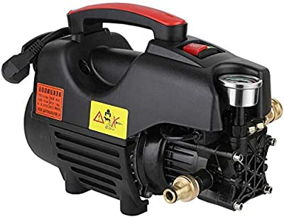 Portable Pressure Washer Pump,Compact High-Pressure Washer With Accessories,1800W Portable Full Copper Motor Electric High Pressure Cleaner Washer Gun For Home Garden, Car Washing Machine,D dljyy from dljxx