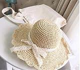 Sombrero De Verano Protector Solar Sombrero De Paja para Muj