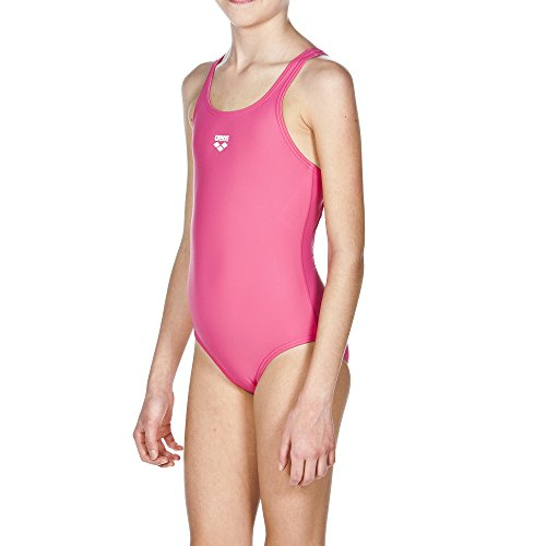 ARENA G Dynamo Junior, Costume Sportivo da Bambina, Rosa (Pink/Fresia Rose), 6-7 Anni