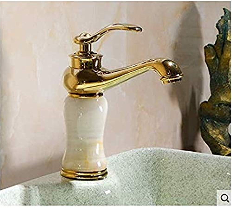 Retro Wasserhahn Küche Fauct Natürliche Jade Waschbecken Wasserhahn Warmes Und Kaltes Wasser Badezimmer Waschbecken