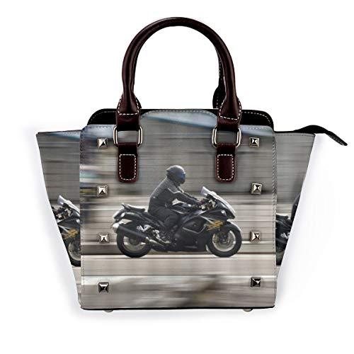 BROWCIN Motorrad Suzuki Motorräder fliegen auf den Straßen Abnehmbare mode trend damen handtasche umhängetasche umhängetasche