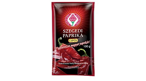 Ungarische Paprika aus Szeged Scharf/Rosenscharf 100g - Delikatess Paprika Pulver - Great Taste Award Preisträger